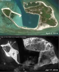 Hoạt động của Tàu trên đảo Quang Hòa